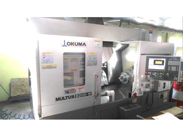 more images Lathe machine Okuma Multus B 200 W