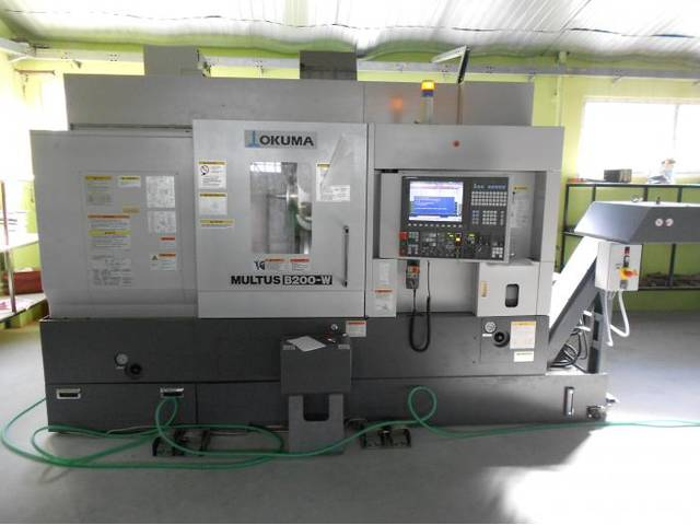 more images Lathe machine Okuma Multus B 200 WX 750