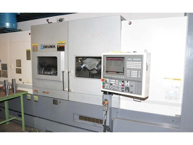 more images Lathe machine Okuma Multus B 400