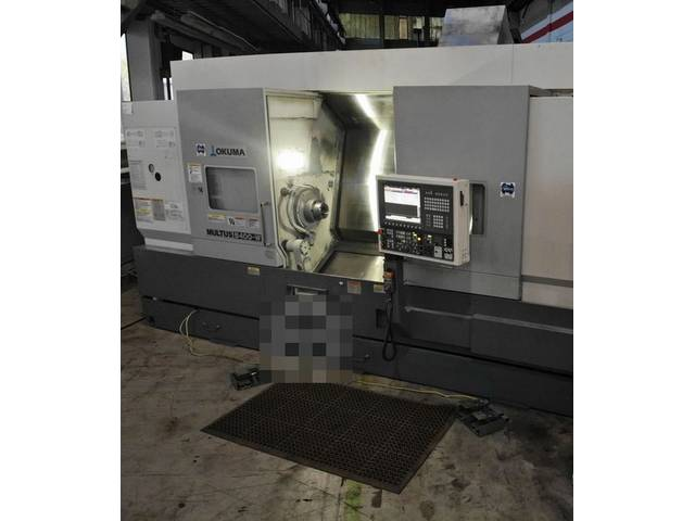 more images Lathe machine Okuma Multus B 400 W