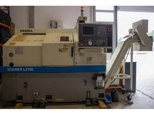 more images Lathe machine Okuma Soarer L 270 E