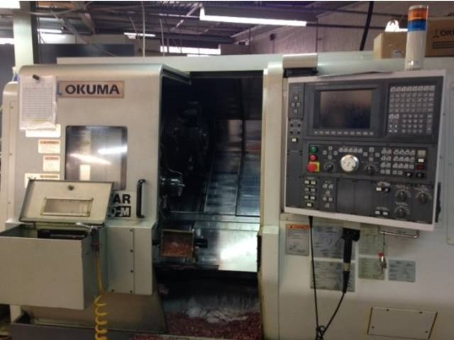 more images Lathe machine Okuma Twin Star LT 200 M