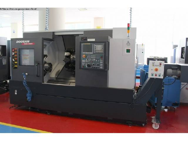 more images Lathe machine Doosan Puma 2600 Y