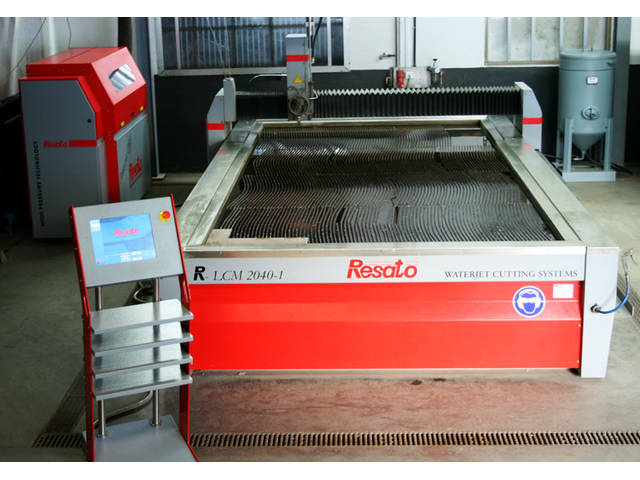 more images Resato R - LCM 2040 - 1 CNC Water Cutting