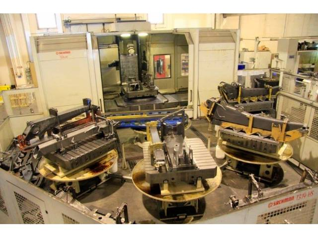 more images Sachman T 314 HS x 3.500 Bed milling machine