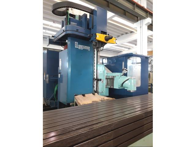 more images Sachman  MX 1000 x 12.000 Bed milling machine