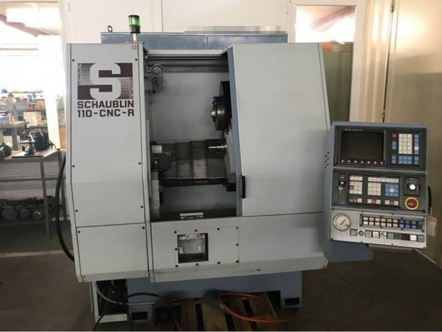 more images Lathe machine Schaublin 110 CNC R