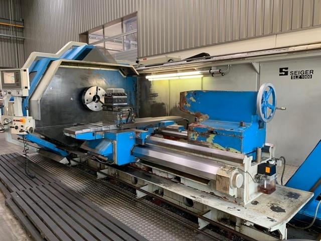 more images Lathe machine Seiger SLZ 1000 x 2000