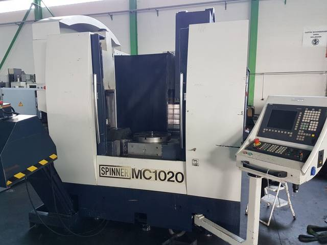 more images Milling machine Spinner MC 1020, Y.  2003