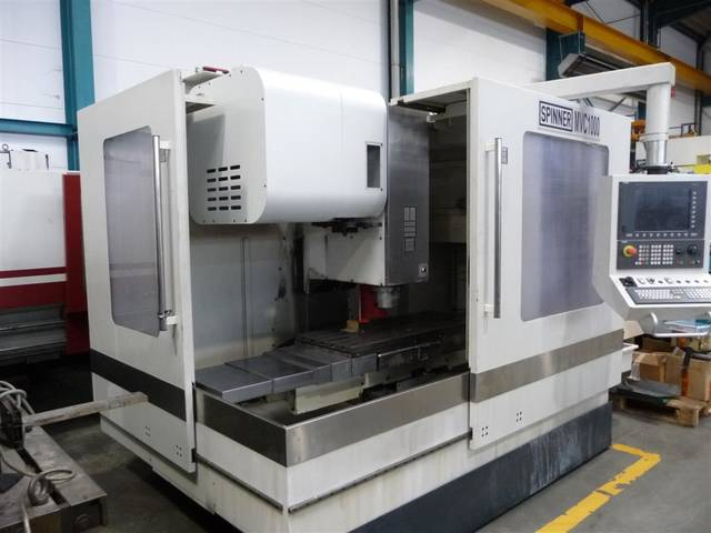 more images Milling machine Spinner MVC 1000, Y.  2011