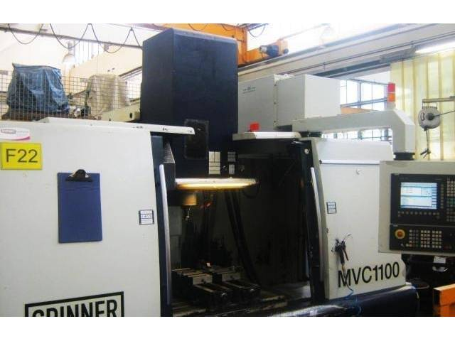 more images Milling machine Spinner MVC 1100
