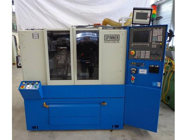 more images Lathe machine Spinner PD CNC