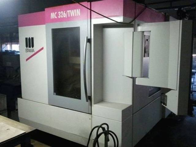 more images Milling machine Stama MC 326 Twin 2 x schwenkrundt., Y.  2013