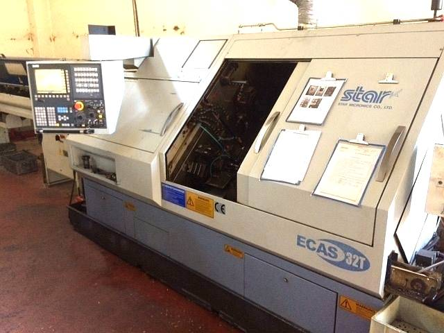 more images Lathe machine Star Ecas 32 T