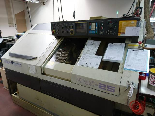 more images Lathe machine Star KNC 25