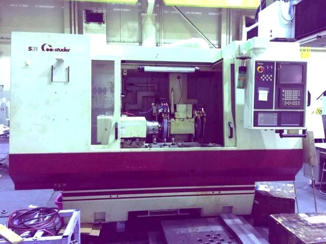 more images Grinding machine Studer S 31 universal full +B axis + C axis