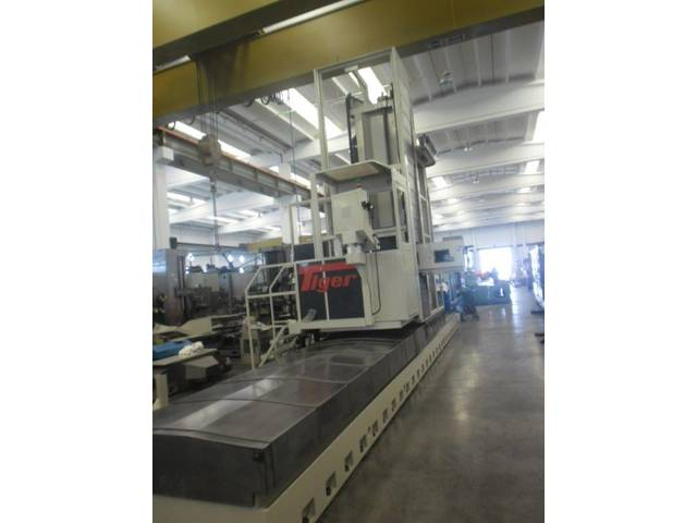 more images Tiger TML 10 x 8000 Bed milling machine