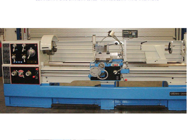 more images ToRen C 6266 x 2000 Conventional Lathe