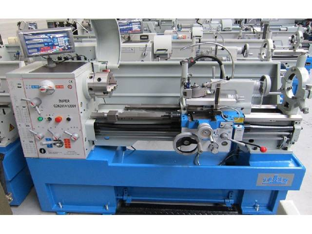 more images ToRen CD 6241 x 1500 Vario Conventional Lathe