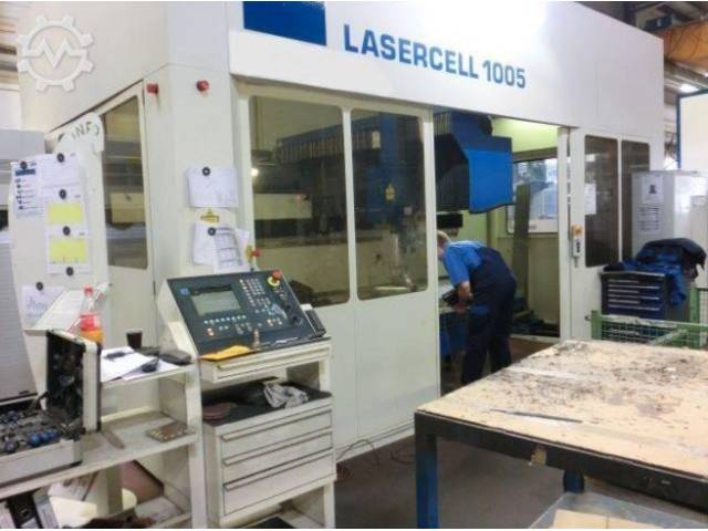 more images Trumpf Lasercell 1005 (TLC) Laser Cutting Systems