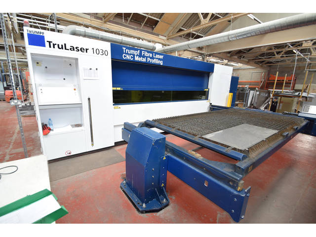 more images Trumpf TruLaser 1030 Fiber- 2000W Laser Cutting Systems