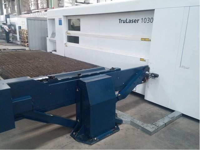 more images Trumpf TruLaser 1030 fiber (L46) Laser Cutting Systems