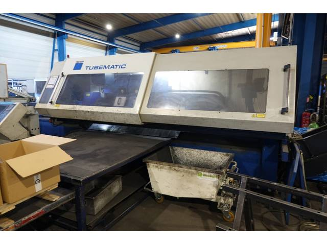 more images Trumpf Tubematic 5000 Laser Cutting Systems