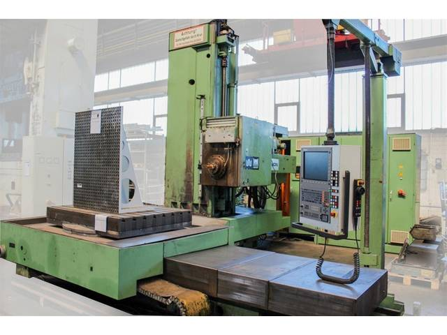 more images Union BFKF 110 Bed milling machine, Boringmills