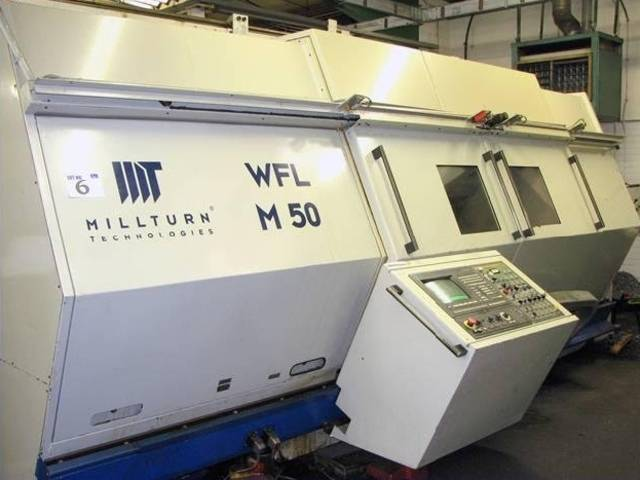 more images Lathe machine WFL M 50