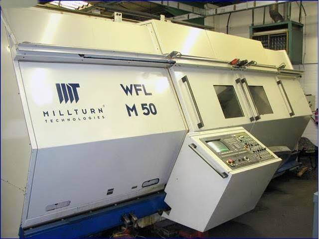 more images Lathe machine WFL Millturn M 50