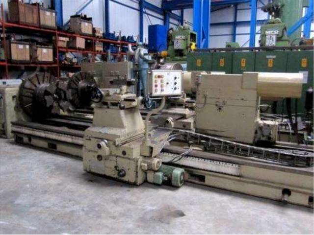more images Lathe machine WMW Niles DPS 1400 / DPS 1800 / 1