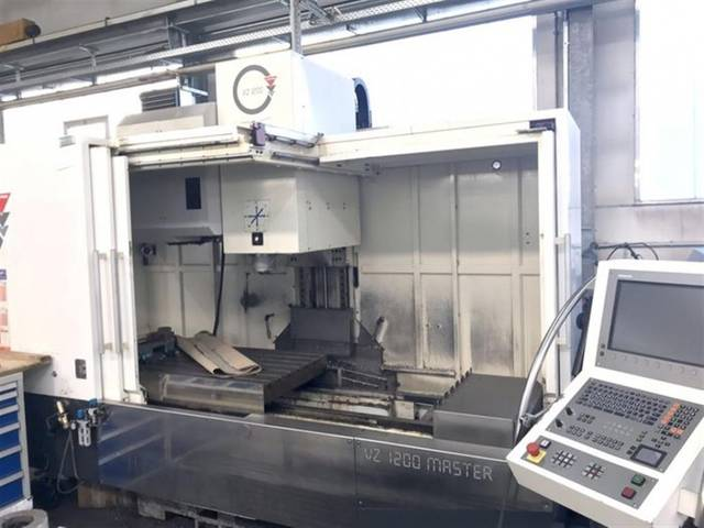 more images Milling machine Wemas VZ 1200, Y.  2008