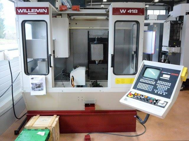 more images Milling machine Willemin Macodel W 418 B