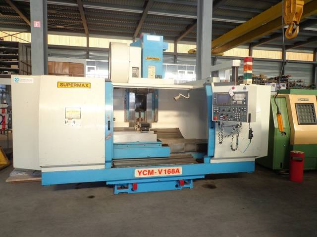 more images Milling machine YCM Supermax V 168 A, Y.  1998