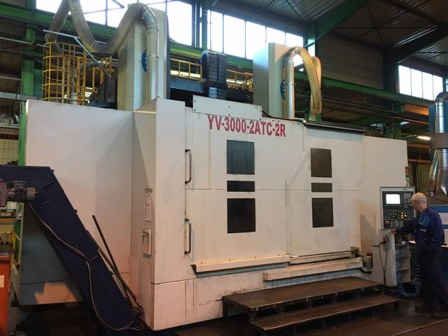 more images Lathe machine YOU JI VTL 3000 - 2 ATC - 2 R