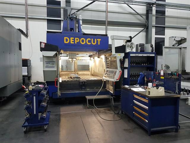 more images Milling machine ZPS Depocut 2012, Y.  2000