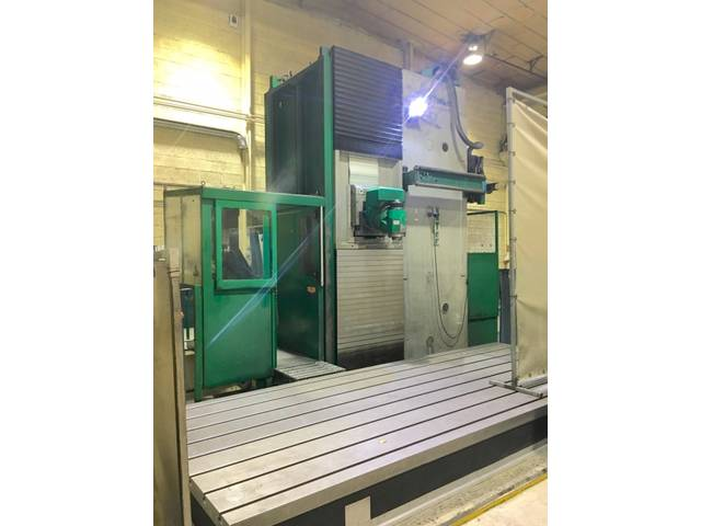 more images Zayer 30 KCU 7000 AR Bed milling machine