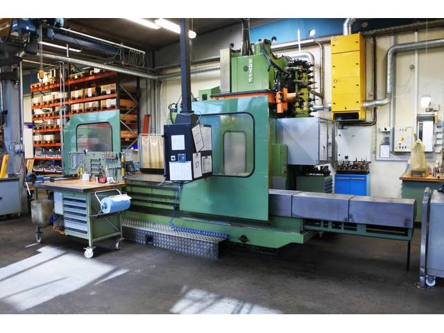 more images Zayer KFU 3000 x 2700 Bed milling machine