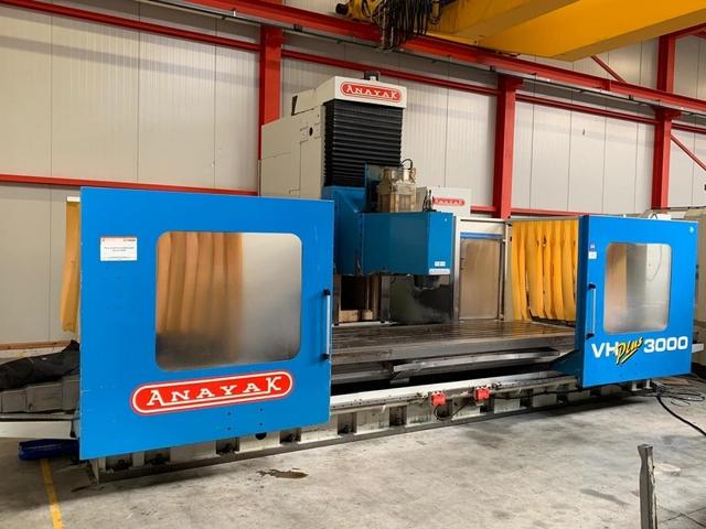more images Anayak VH Plus 3000 Bed milling machine