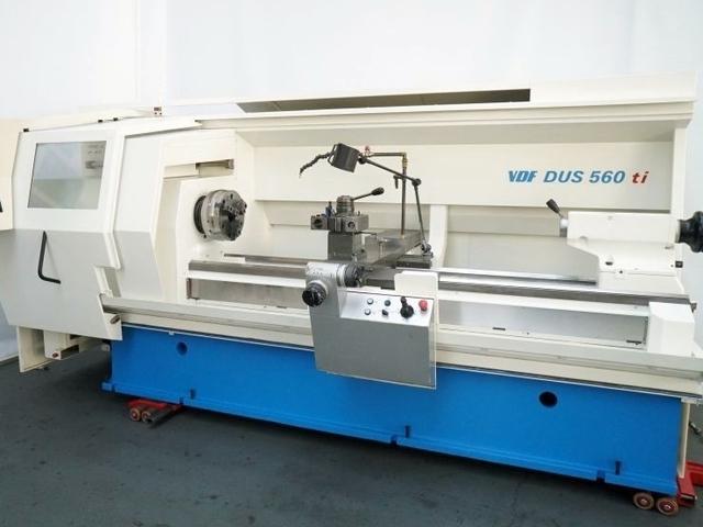 more images Lathe machine Boehringer DUS 560 ti