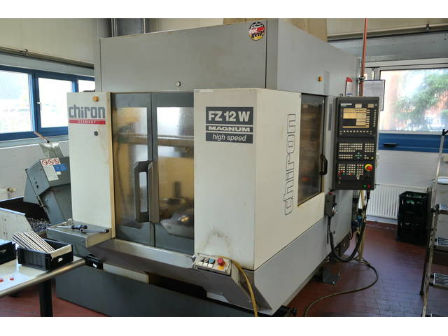 more images Milling machine Chiron FZ 12 W, Y.  2000