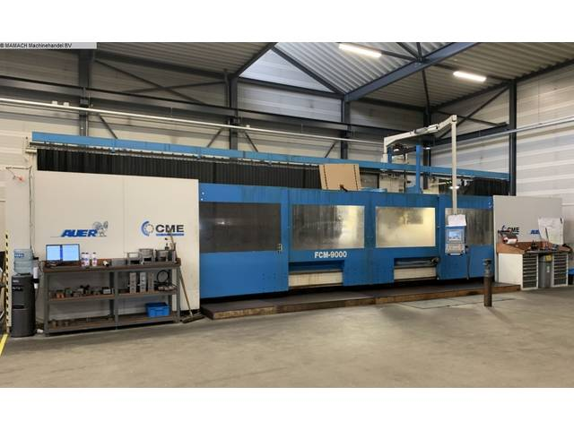 more images CME FCM 9000  Bed milling machine