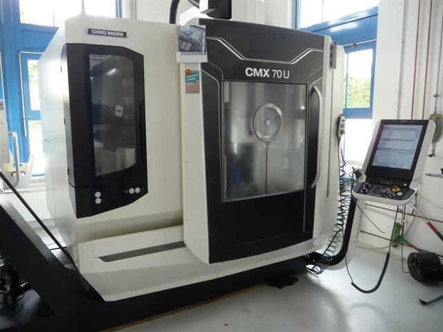 more images Milling machine DMG CMX 70 U