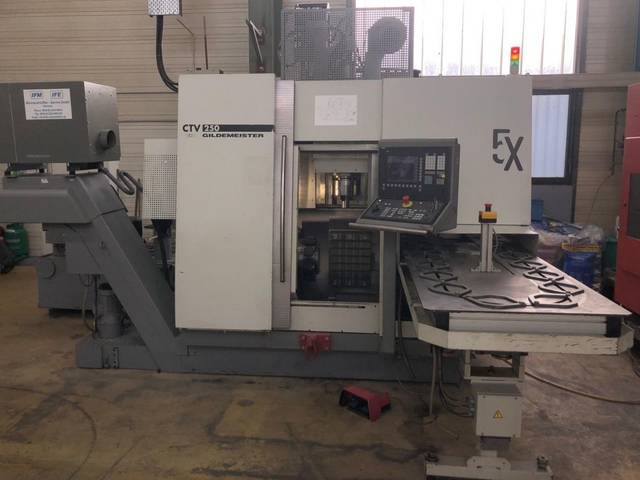 more images Lathe machine DMG CTV 250 V3
