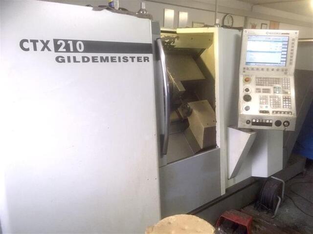 more images Lathe machine DMG CTX 210 V3