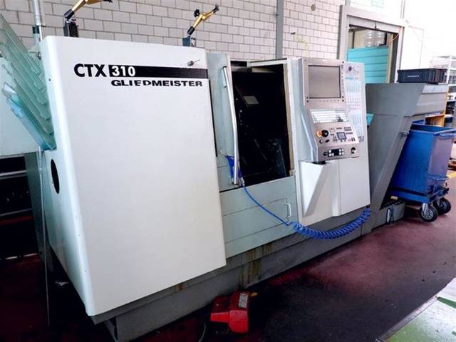 more images Lathe machine DMG CTX 310 V1