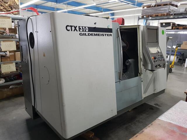 more images Lathe machine DMG CTX 310 V3