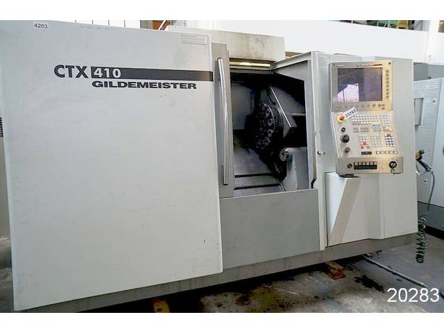 more images Lathe machine DMG CTX 410 V3
