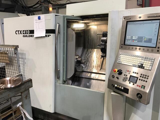 more images Lathe machine DMG CTX 410 V6