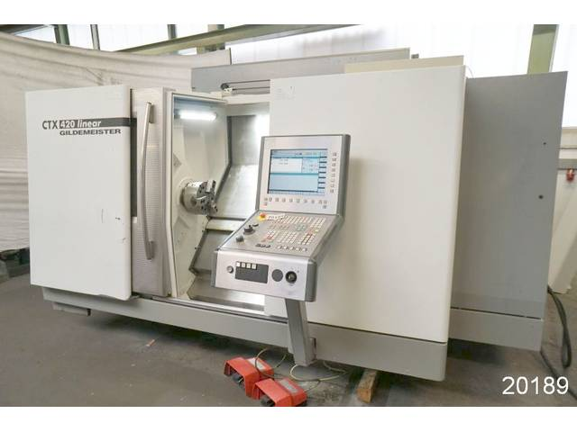 more images Lathe machine DMG CTX 420 linear